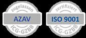 zertifiziert nach AZAV und ISO 9001